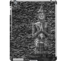 Temple Statue Monochrome iPad Case/Skin