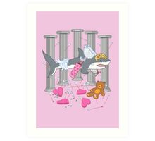 The Cupid Shark Art Print