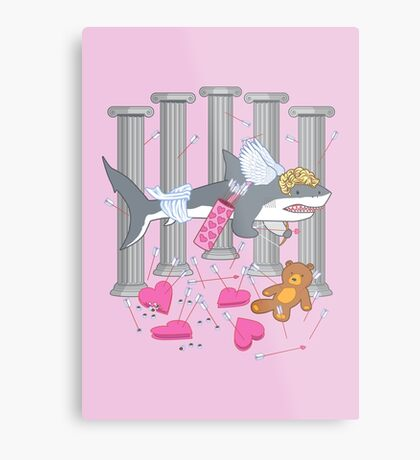 The Cupid Shark Metal Print