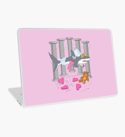 The Cupid Shark Laptop Skin