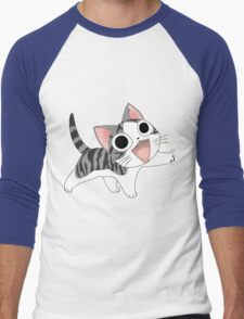 Chi cute cat Men's Baseball ¾ T-Shirt