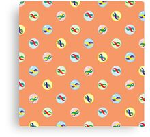 Colorful Marble Pattern Canvas Print