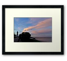 Dreaming of a distant lighthouse Framed Print
