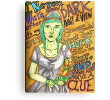 Grimes - Oblivion Canvas Print