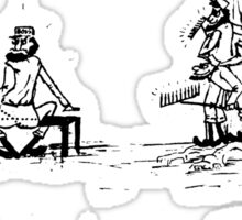 Zoo Humour - Cartoon 0010 Sticker