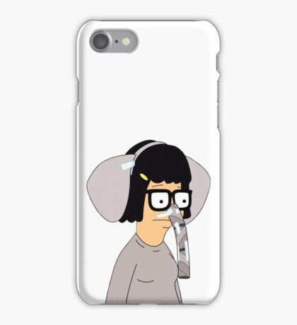 Tina Belcher in Elephant Costume  iPhone Case/Skin