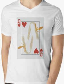 Khaleesi - Queen of Hearts Mens V-Neck T-Shirt
