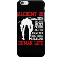 Fullmetal Alchemist T-Shirt iPhone Case/Skin