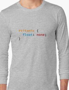 #titanic Long Sleeve T-Shirt