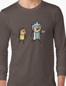 RICK AND MORTY CYANIDE style Long Sleeve T-Shirt