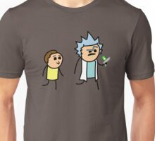 RICK AND MORTY CYANIDE style Unisex T-Shirt