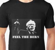 Feel the bern black campaign shirt Unisex T-Shirt