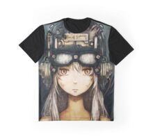 Steampunk Anime Girl Graphic T-Shirt