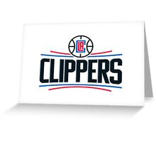 LA CLIPPERS NEW LOGO 2015 Greeting Card
