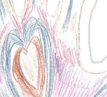 Heart Hand Sticker