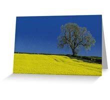 The Oak Tree ( Landscape ) Greeting Card