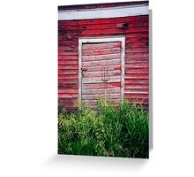 Grandpa's Barn Greeting Card