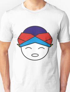 Smiling Red Blue Blangkon T-Shirt