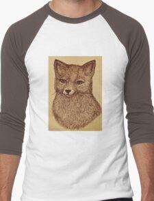 Woodland Fox Men's Baseball ¾ T-Shirt