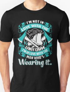 Not in love with the #Firefighter uniform, it's loving the #fireman T-Shirt