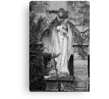 Madonna and Jesus Canvas Print