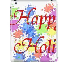 Happy Holi iPad Case/Skin