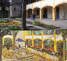 Vincent Van Gogh - Hospital in Arles by AustereAlex