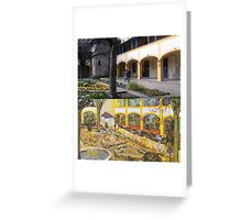 Vincent Van Gogh - Hospital in Arles Greeting Card
