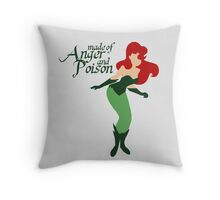 Made of Anger and Poison Throw Pillow