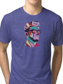 Shape Face Tri-blend T-Shirt