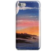 Sunset Moon iPhone Case/Skin