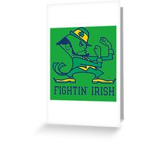 Saint Patrick's Day : Fighting Iris  Greeting Card