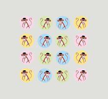 fun monkey pattern Unisex T-Shirt