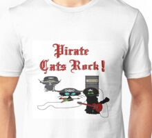 Pirate Cats Rock Unisex T-Shirt