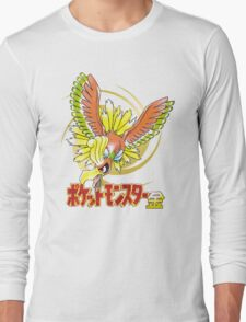 Pocket Monsters: Gold Long Sleeve T-Shirt