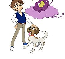 Digby, Dax and Loo by Travis Cataldo
