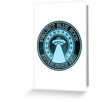 Blue Book Greeting Card