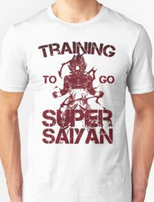 Super saiyan - training to go T-Shirt