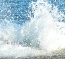 Crashing waves Sticker