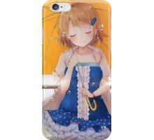Koizumi Hanayo Smiling In The Rain iPhone Case/Skin
