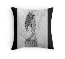 Sympathy for the fallen Throw Pillow