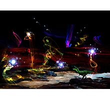 Bioluminescence Photographic Print