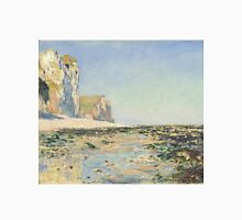 Claude Monet - Seashore and Cliffs of Pourville in the Morning (1882) T-Shirt