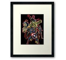 warrior of the galaxy Framed Print