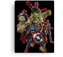 warrior of the galaxy Canvas Print