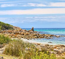 Castle Rock Beach, Dunsborough, Western Australia #3 by Elaine Teague