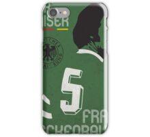 Beckenbauer iPhone Case/Skin