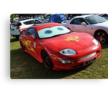 Cars - Lightning McQueen Canvas Print
