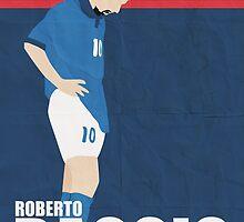 Roberto Baggio by johnsalonika84