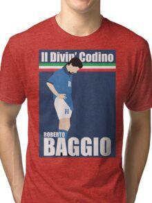 Roberto Baggio Tri-blend T-Shirt